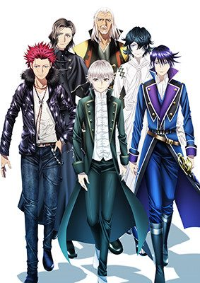 K: Seven Stories Theatrical Anime Project Opens in Japan Starting in Summer 2018