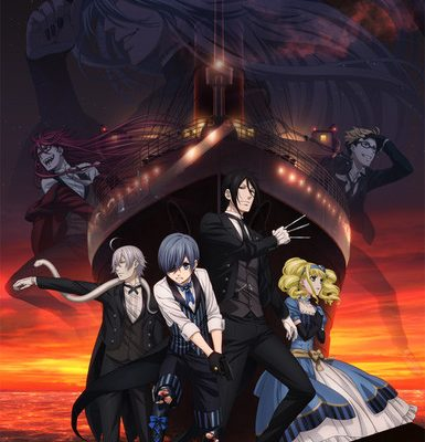 Funimation Licenses Black Butler: Book of the Atlantic Film for Screenings in Theaters This Year