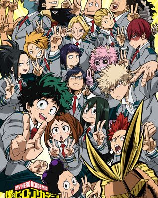 My Hero Academia Season 2's Preview Video Highlights U.A. Sports Festival
