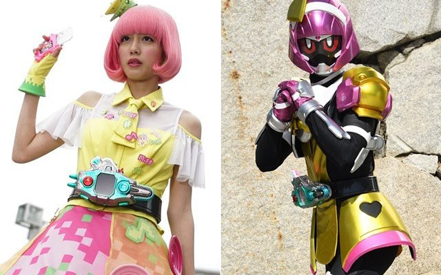 UPDATED: New Female Kamen Rider Makes a Very Pink Debut
