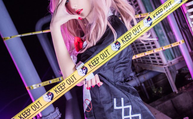 Dangerously Sexy Enoshima Junko Cosplay Quite Crazed