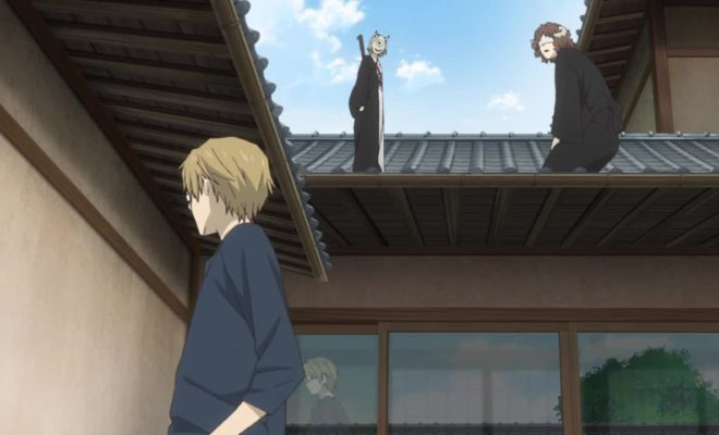 Natsume Yuujinchou Roku Ep. 5 is now available in OS.
