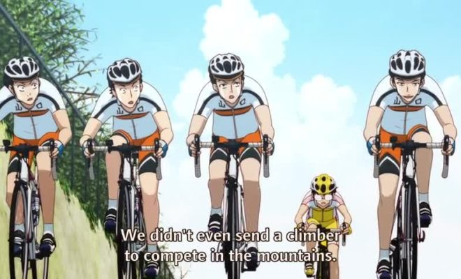Yowamushi Pedal: New Generation Ep. 23 is now available in OS.
