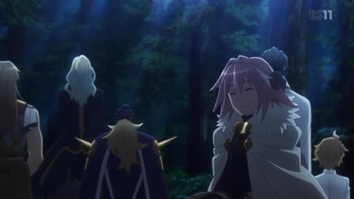 Fate/Apocrypha Ep. 5 is now available in OS.
