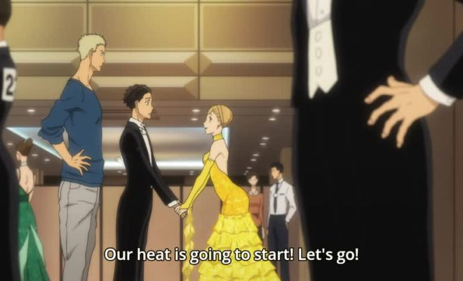Ballroom e Youkoso Ep. 7 is now available in OS.