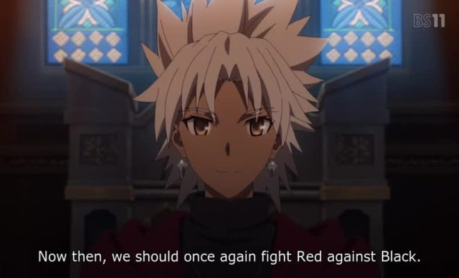 Fate/Apocrypha Ep. 13 is now available in OS.