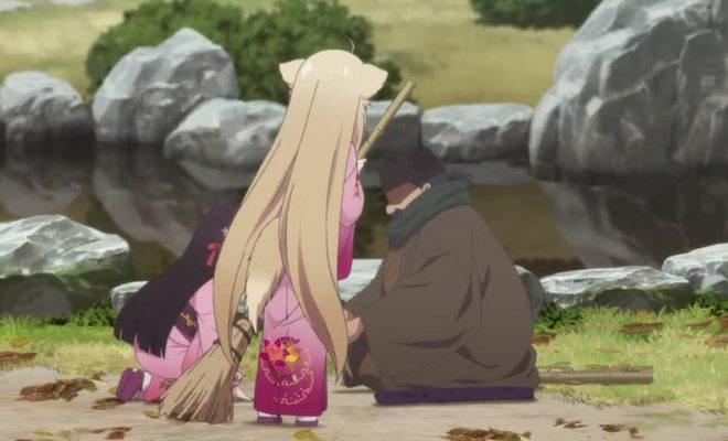 Konohana Kitan Ep. 11 is now available in OS.