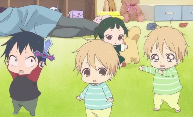 Gakuen Babysitters Ep. 1 is now available in OS.