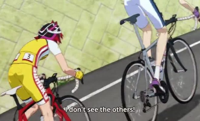 Yowamushi Pedal: Glory Line Ep. 3 is now available in OS.