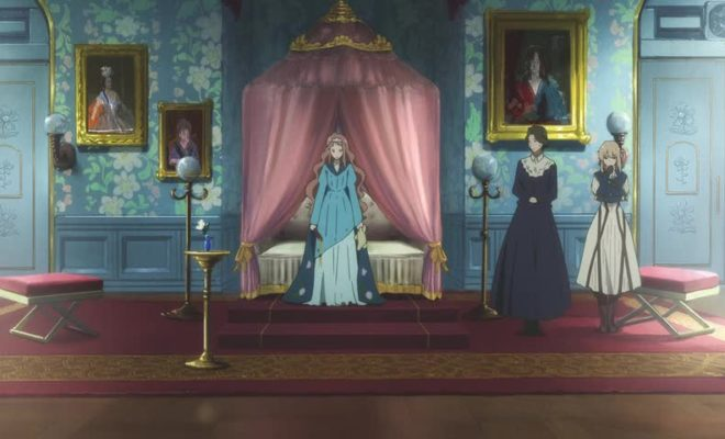 Violet Evergarden Ep. 5 is now available in OS.