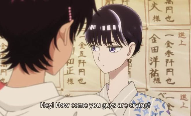 Koi wa Ameagari no You ni Ep. 9 is now available in OS.