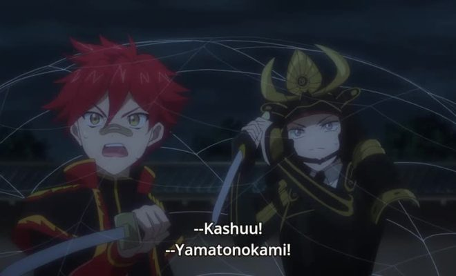 Zoku Touken Ranbu: Hanamaru Ep. 12 is now available in OS.
