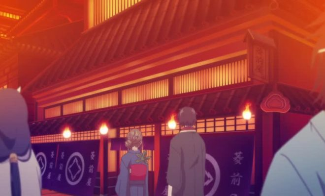 Kakuriyo no Yadomeshi Ep. 3 is now available in OS.