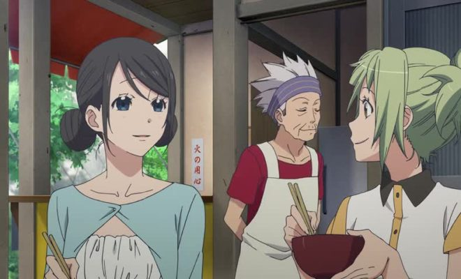 Amanchu! Advance Ep. 1 is now available in OS.