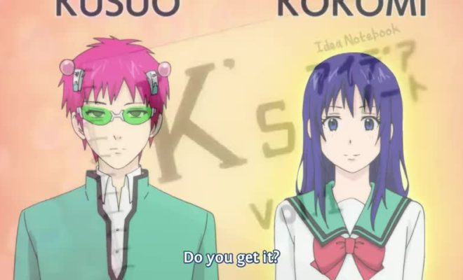 Saiki Kusuo no Ψ-nan 2 Ep. 19 is now available in OS.