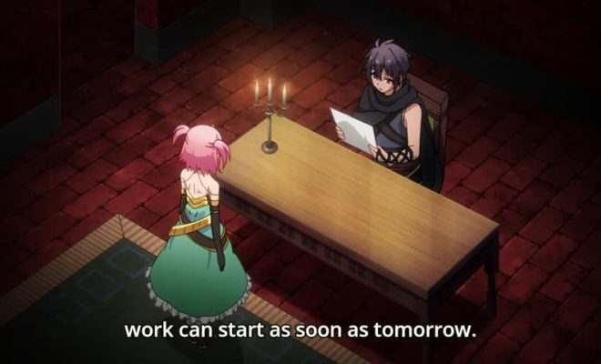 Hyakuren no Haou to Seiyaku no Valkyria Ep. 4 is now available in OS.