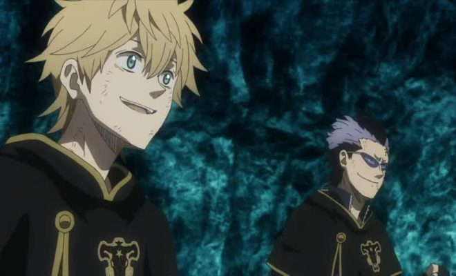 Black Clover (TV) Ep. 44 is now available in OS.