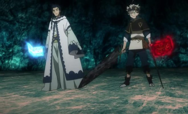 Black Clover (TV) Ep. 45 is now available in OS.