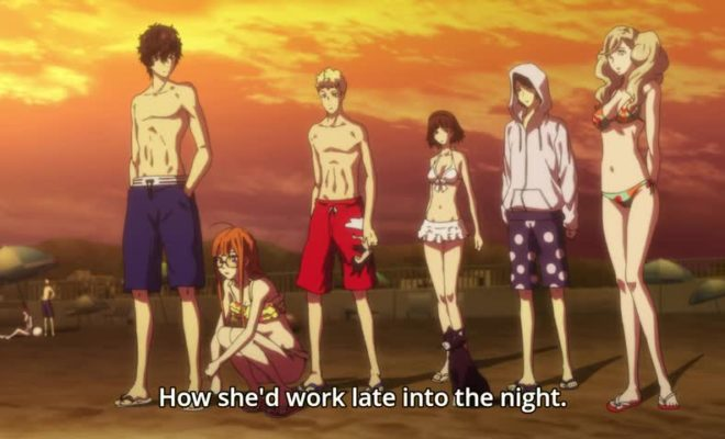 Persona 5 the Animation Ep. 18 is now available in OS.