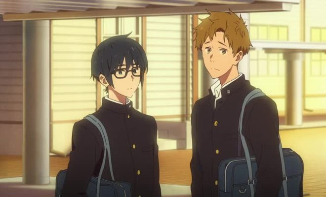 Tsurune: Kazemai Koukou Kyuudoubu Ep. 3 is now available in OS.