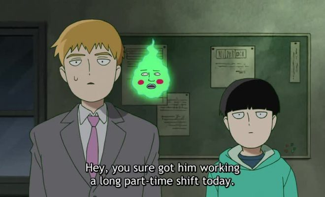 Mob Psycho 100 II Ep. 3 is now available in OS.