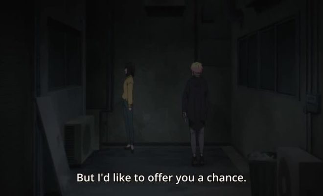 Boogiepop wa Warawanai (2019) Ep. 13 is now available in OS.