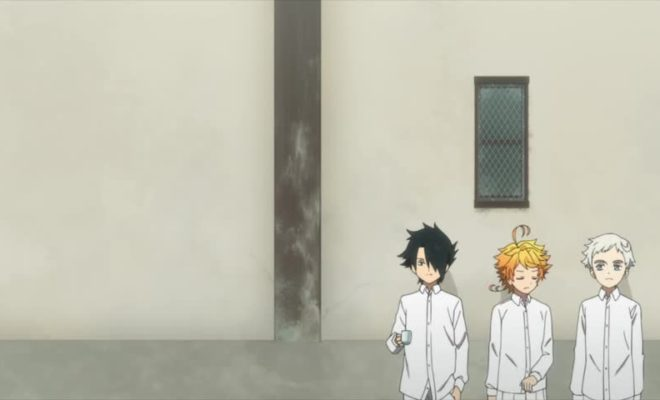 Yakusoku no Neverland Ep. 4 is now available in OS.