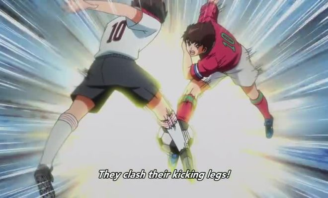 Captain Tsubasa (2018) Ep. 44 is now available in OS.