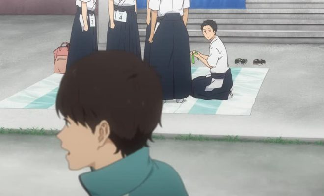 Tsurune: Kazemai Koukou Kyuudoubu Ep. 12 is now available in OS.