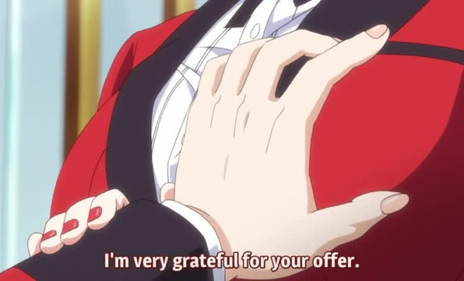 Kakegurui×× Ep. 9 is now available in OS.