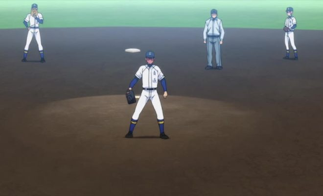Diamond no Ace: Act II Ep. 1 is now available in OS.
