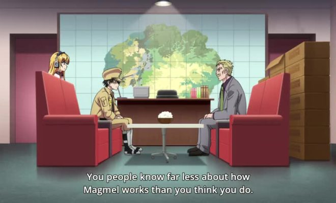Gunjou no Magmel Ep. 7 is now available in OS.