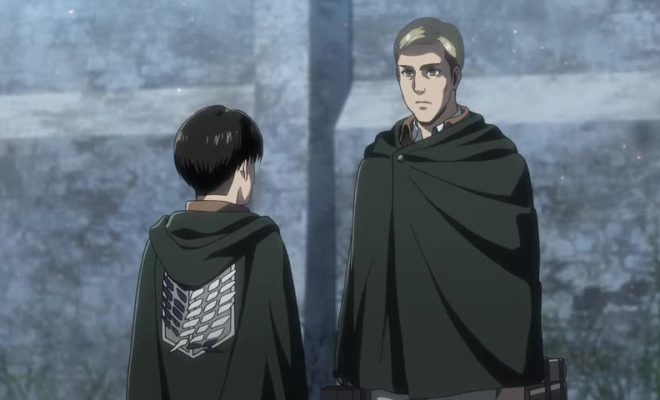 Shingeki no Kyojin Season 3 Part 2 Ep. 4 is now available in OS.