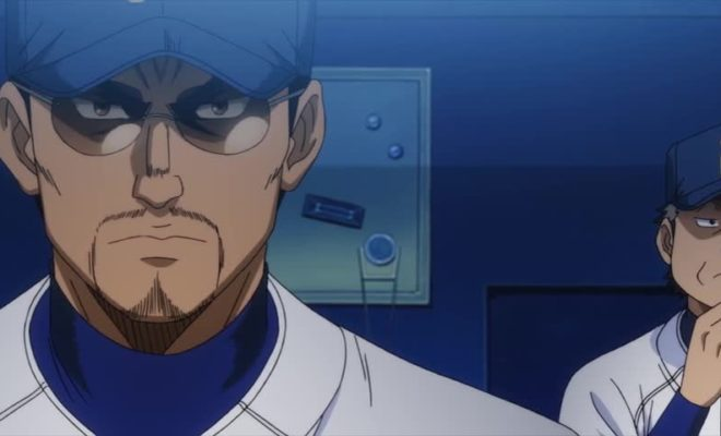 Diamond no Ace: Act II Ep. 11 is now available in OS.