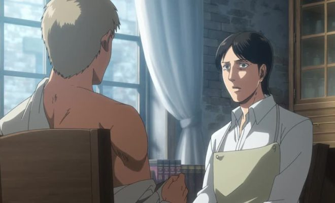 Shingeki no Kyojin Season 3 Part 2 Ep. 8 is now available in OS.