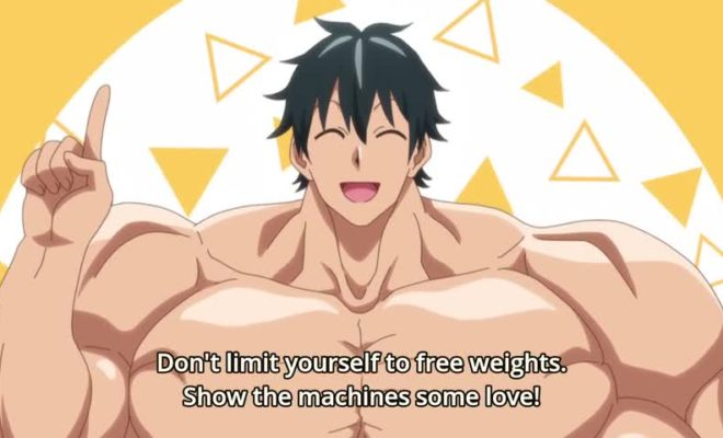 Dumbbell Nan Kilo Moteru? Ep. 4 is now available in OS.