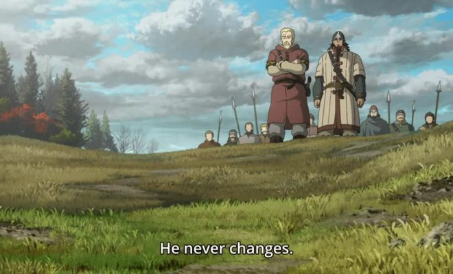 Vinland Saga Ep. 7 is now available in OS.