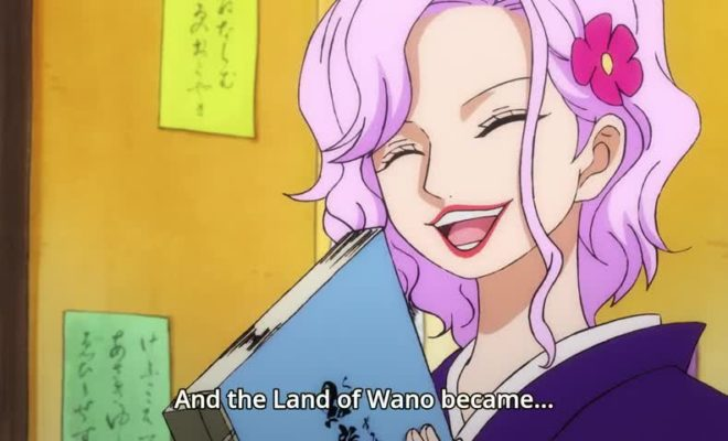 One Piece Ep. 909 is now available in OS.
