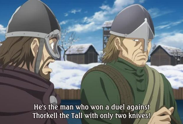 Vinland Saga Ep. 21 is now available in OS.