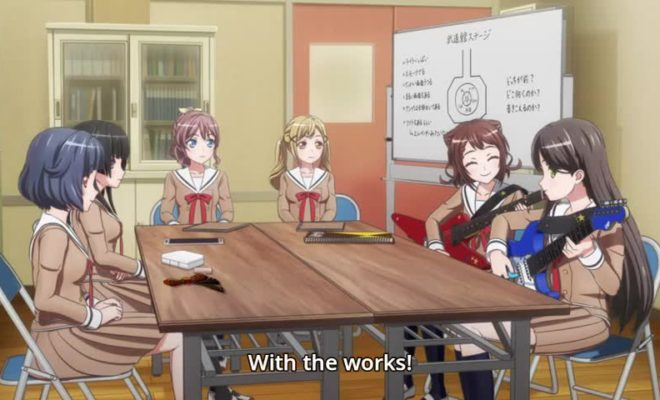BanG Dream! 3rd Season Ep. 12 is now available in OS.
