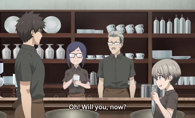 Uzaki-chan wa Asobitai! Ep. 11 is now available in OS.