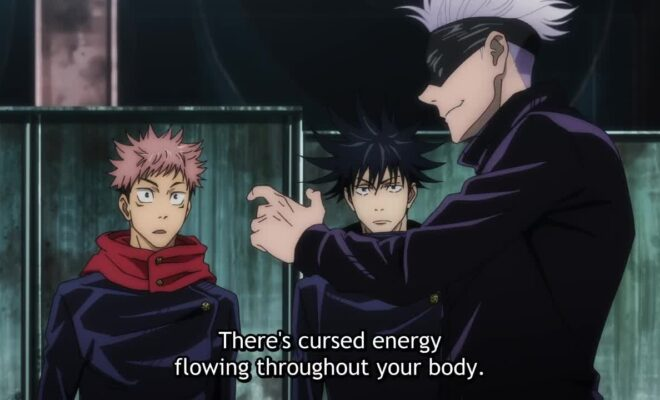 Jujutsu Kaisen (TV) Ep. 3 is now available in OS.