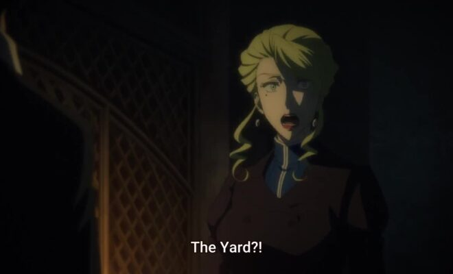 Yuukoku no Moriarty Ep. 14 is now available in OS.